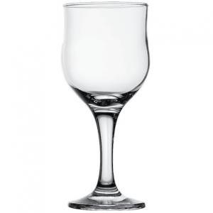 Бокал для вина 240 мл. d=75 h=163 мм. красн. Тулип Б /24/